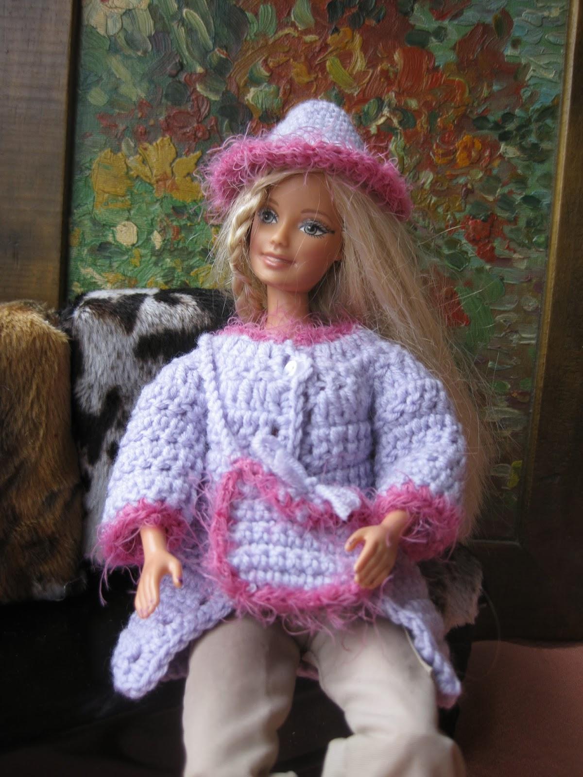 CREACIONES SUSANA: Colección de invierno para muñecas Barbie.