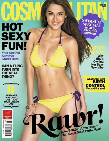 Marian Rivera 'Tan Look' in Cosmopolitan March 2013 Cover
