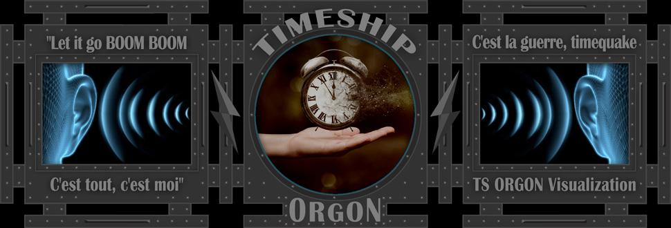 Timeship ORGON Visualization