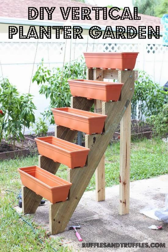 jardim vertical escada:Jardim Vertical – DIY – *Decoração e Invenção*