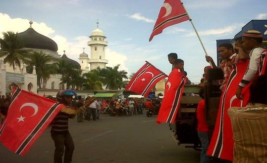 Presiden - Kasus pengimabaran Bendera GAM di Qanun Aceh Harus Cepat Ditangani