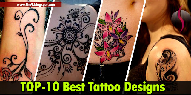 Ten Best Tattoos Specially for Girls