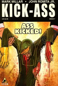 Cover of Kick-Ass comic seventh issue