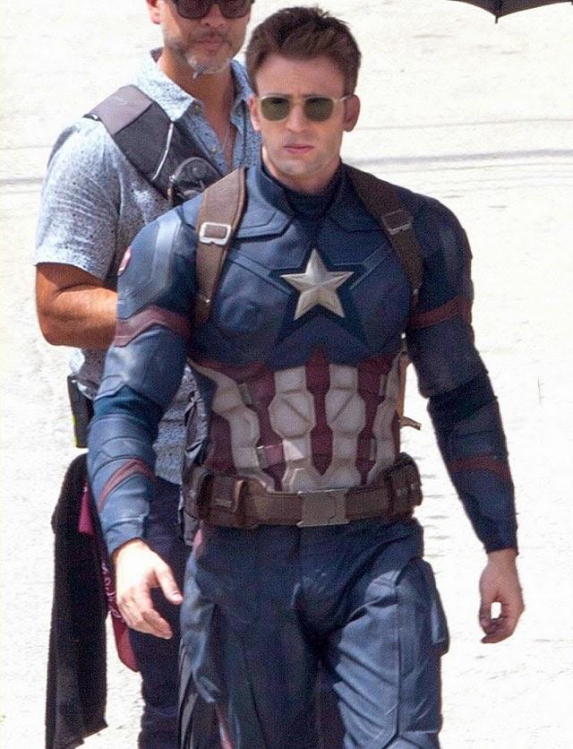 クリス・エヴァンス キャプテン・アメリカ シビル・ウォー
