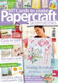 I was published in Papercraft Inspirations Sept 2012 Issue