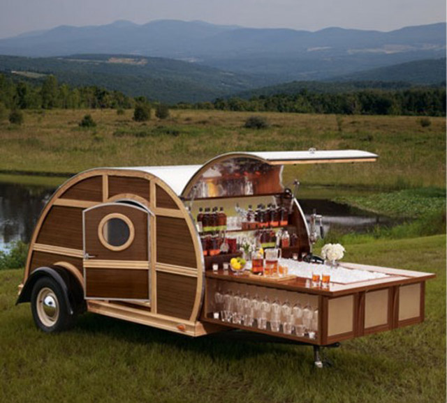 Whisky micro trailer