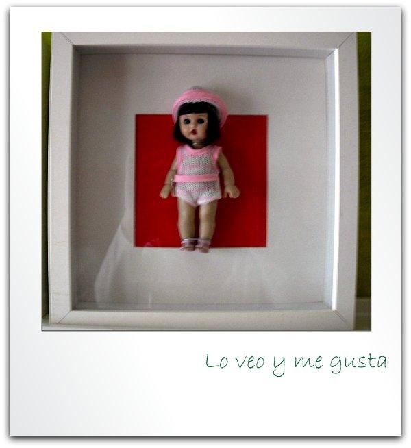 Lo veo y me gusta: Ribba de Ikea y mi colección de Mariquitas Pérez