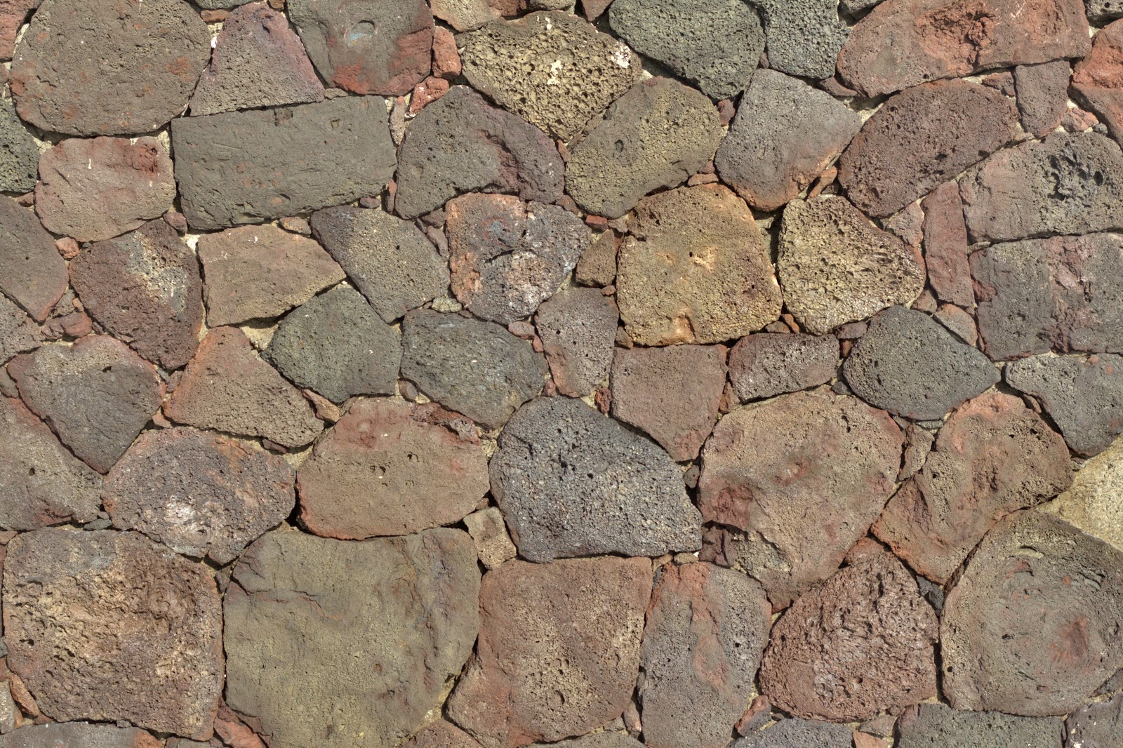 Stone wall floor coloured rock texture 4770x3178