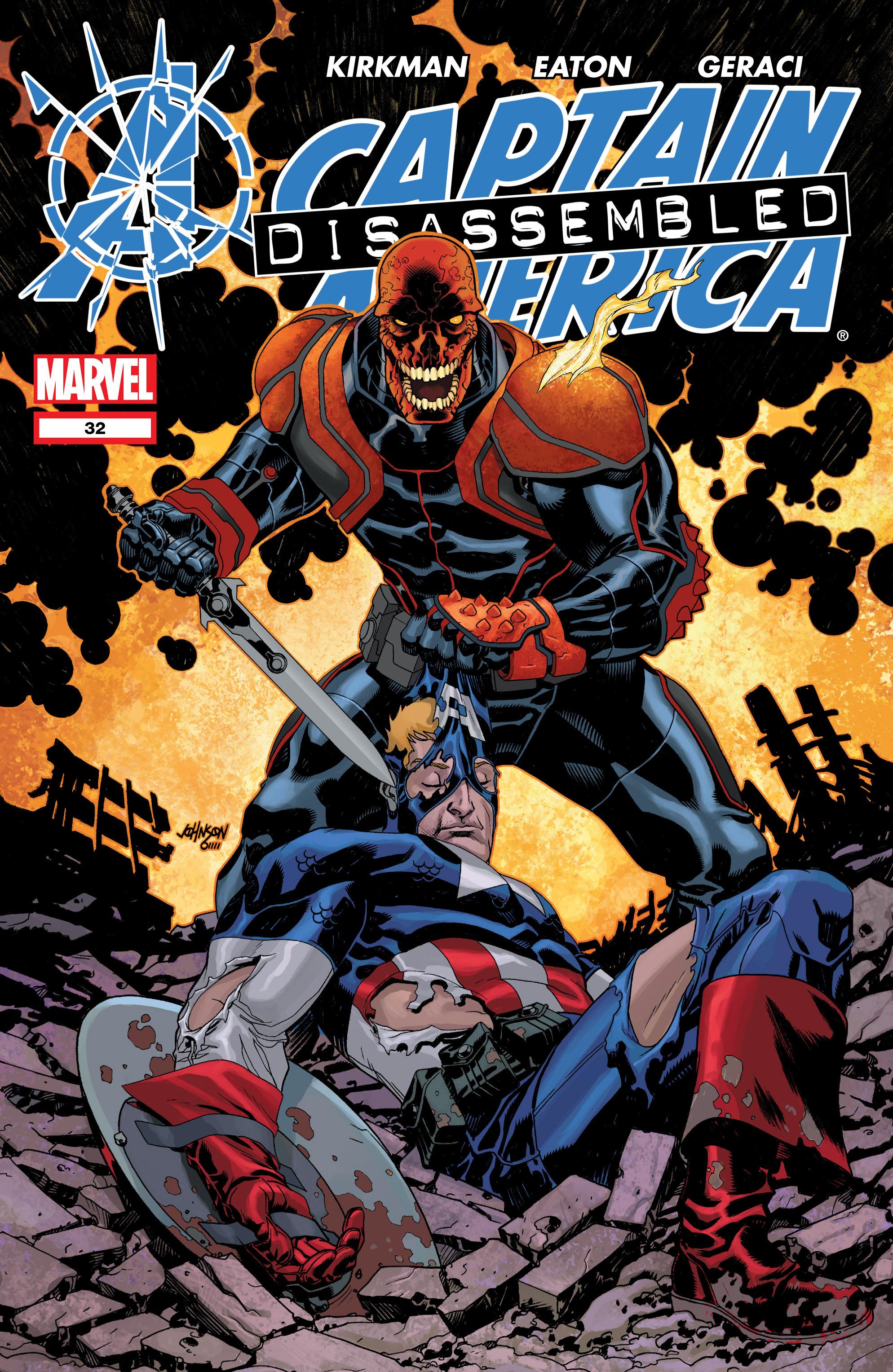 Captain America (2002) Issue #32 #33 - English 1