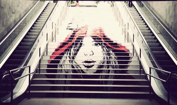 Escaleras con arte Escaleras11