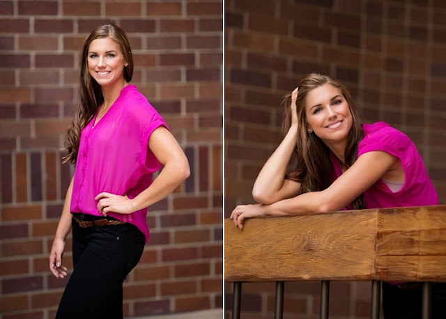 Alex Morgan poses for Team USA Media Summit Photoshoot 2012