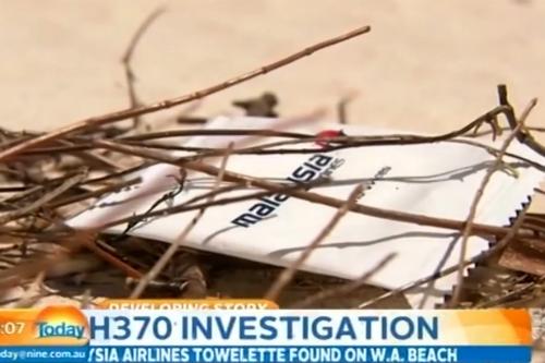 Paket Kertas Tisu Logo MAS Petanda Pertama dari MH370