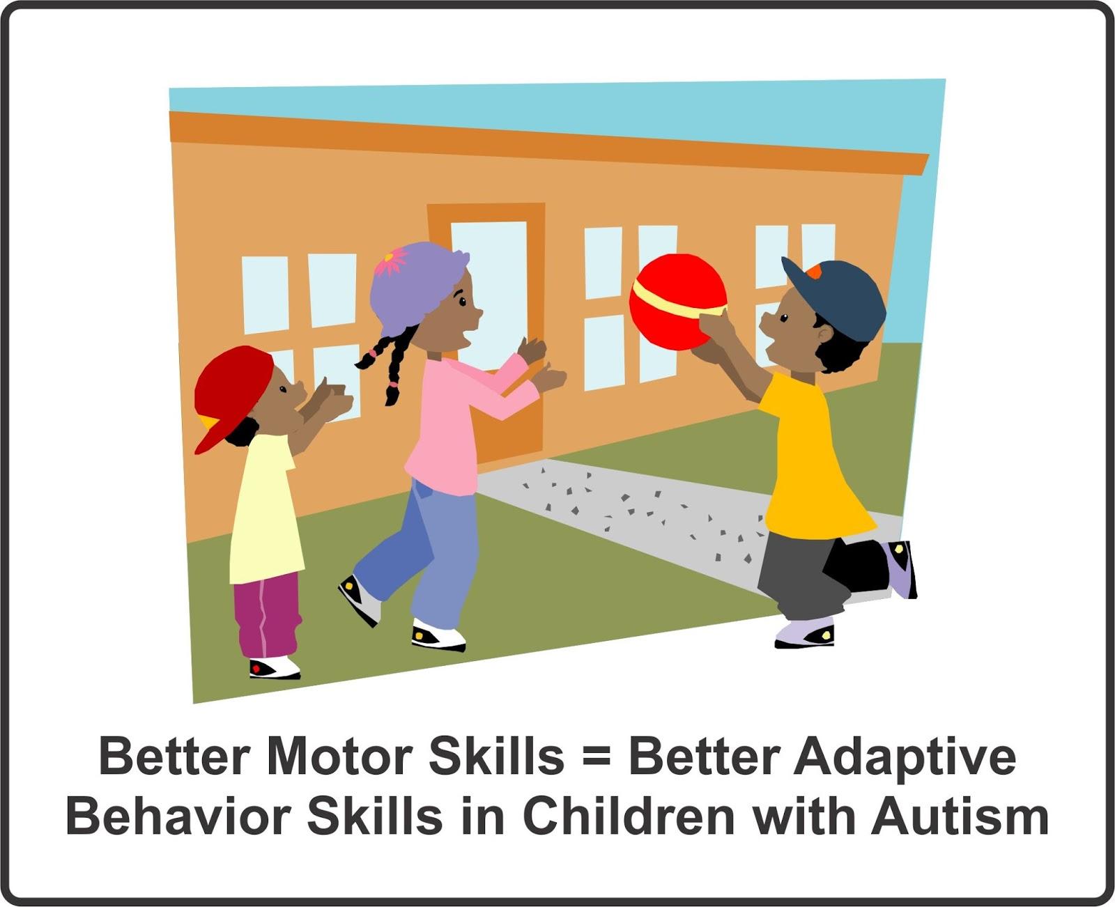 Better Motor Skills Better Adaptive Behavior Skills In