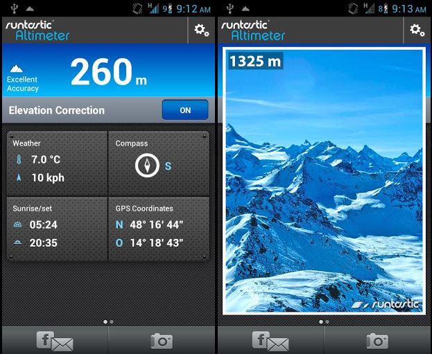 runtastic altimeter pro v1 2 2 apk and premium apk android
