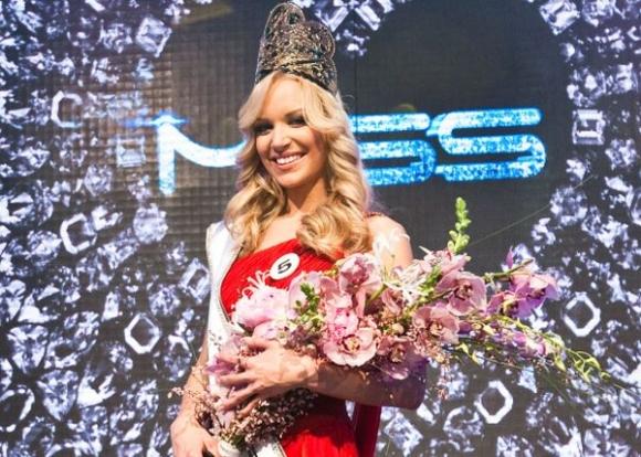 Miss Universe Slovak Republic 2013 Slovenskej Republiky 2013 Jeanette Borhyova