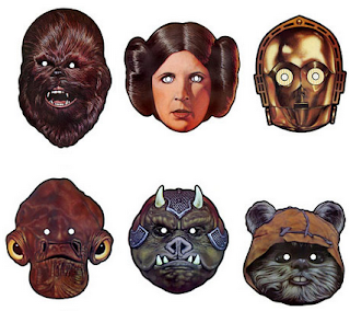 photograph about Star Wars Printable Masks identified as Frugal Mother and Spouse: Totally free Printable Star Wars Unique and