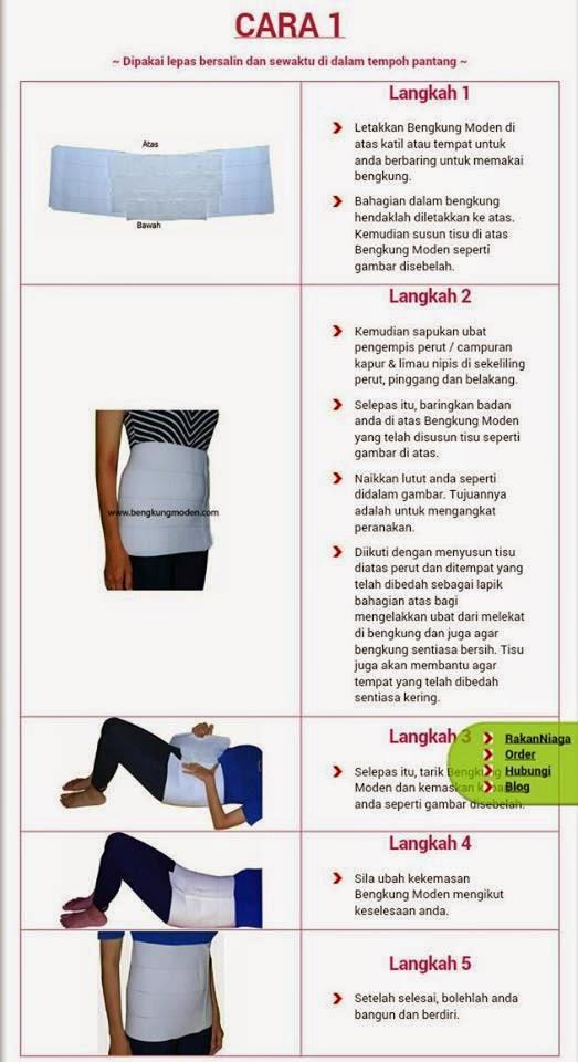 Review Bengkung Moden Cesarean Dan Krim Piper Gel