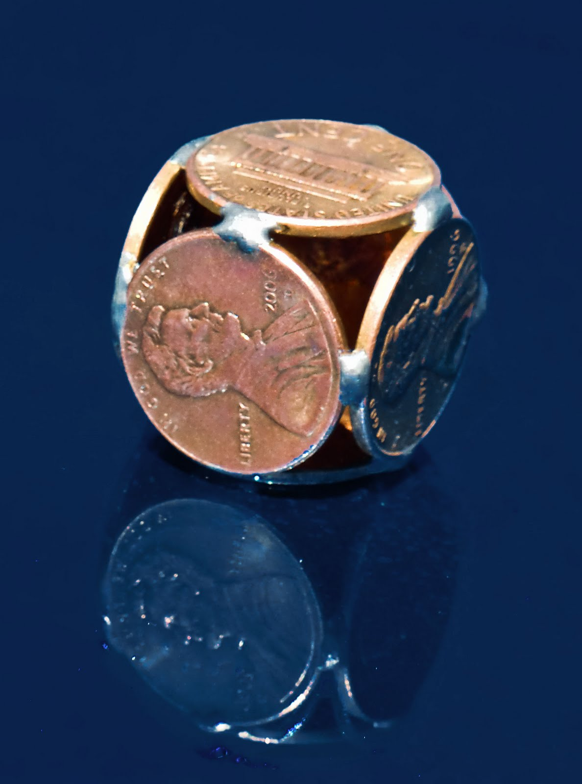 An Ocean Of Knowledge Inch Deep Platonic And Archimedean Solids From Coins