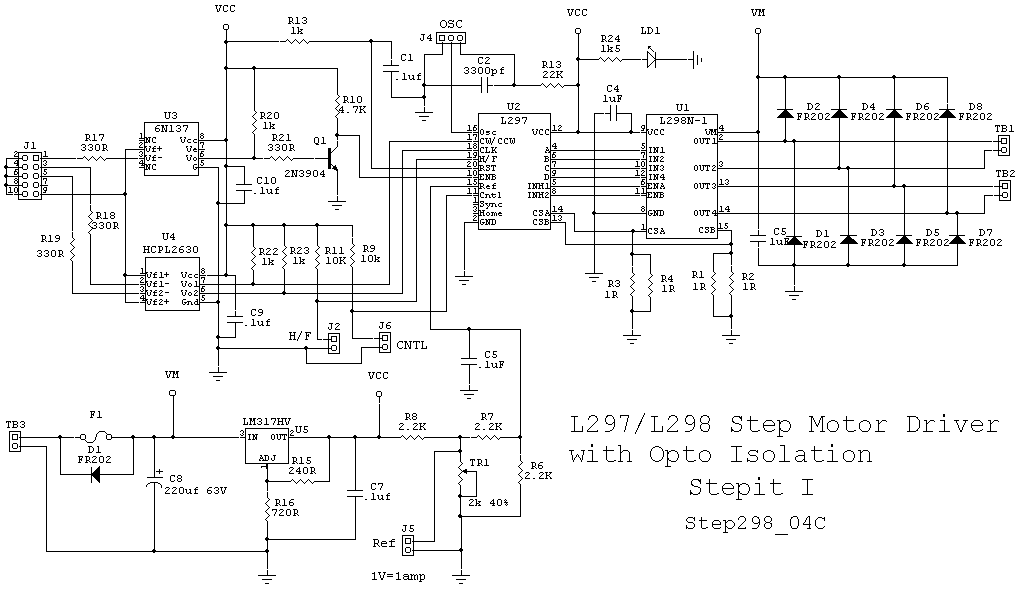 Cncrouterbuild  Step298 Step Motor Driver