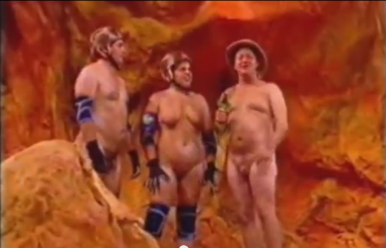Something Naked jungle tv show