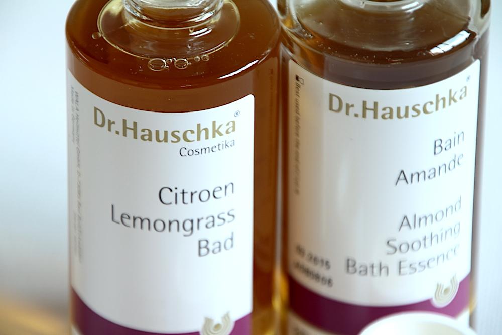 dr. hauschka huile de bain citron citronelle bain amande avis test