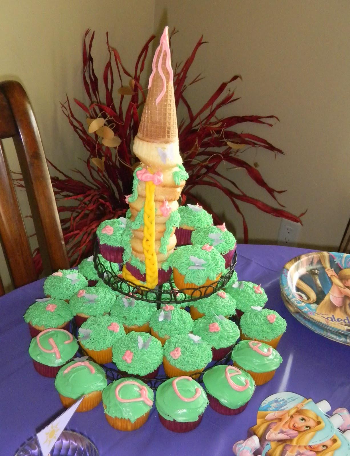 Girly Momma Designs Tangled Princess Birthday Party Food Decor Ideas