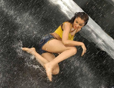 Nisha Kothari Sexy Monsoon Photoshoot
