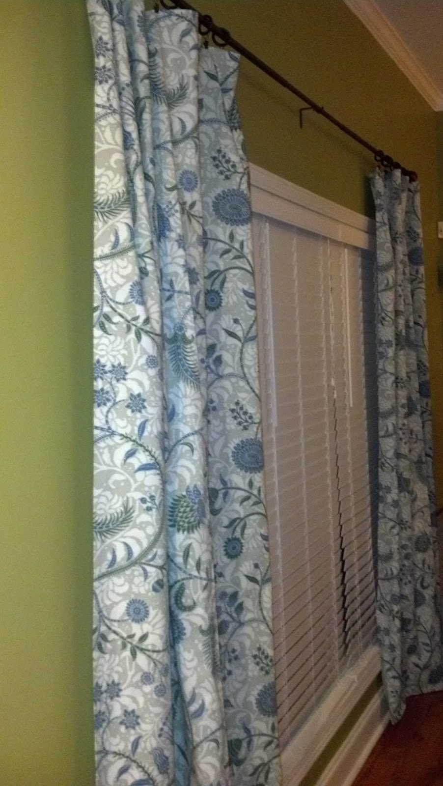 The Tolle House My Easy Peasy No Sew Diy Curtains