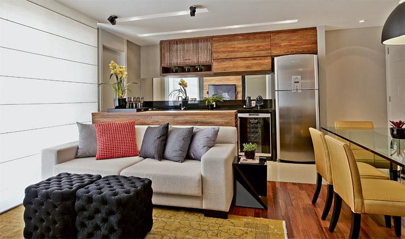 Sala De Jantar Lojas Americanas ~ Tipos de cozinha americana +15 fotos e medidas para bancadas!  Decor