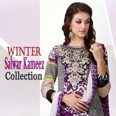 Winter Salwar Kameez Collection