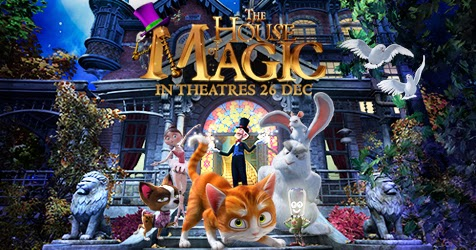 The House of Magic (2013) BluRay 720p