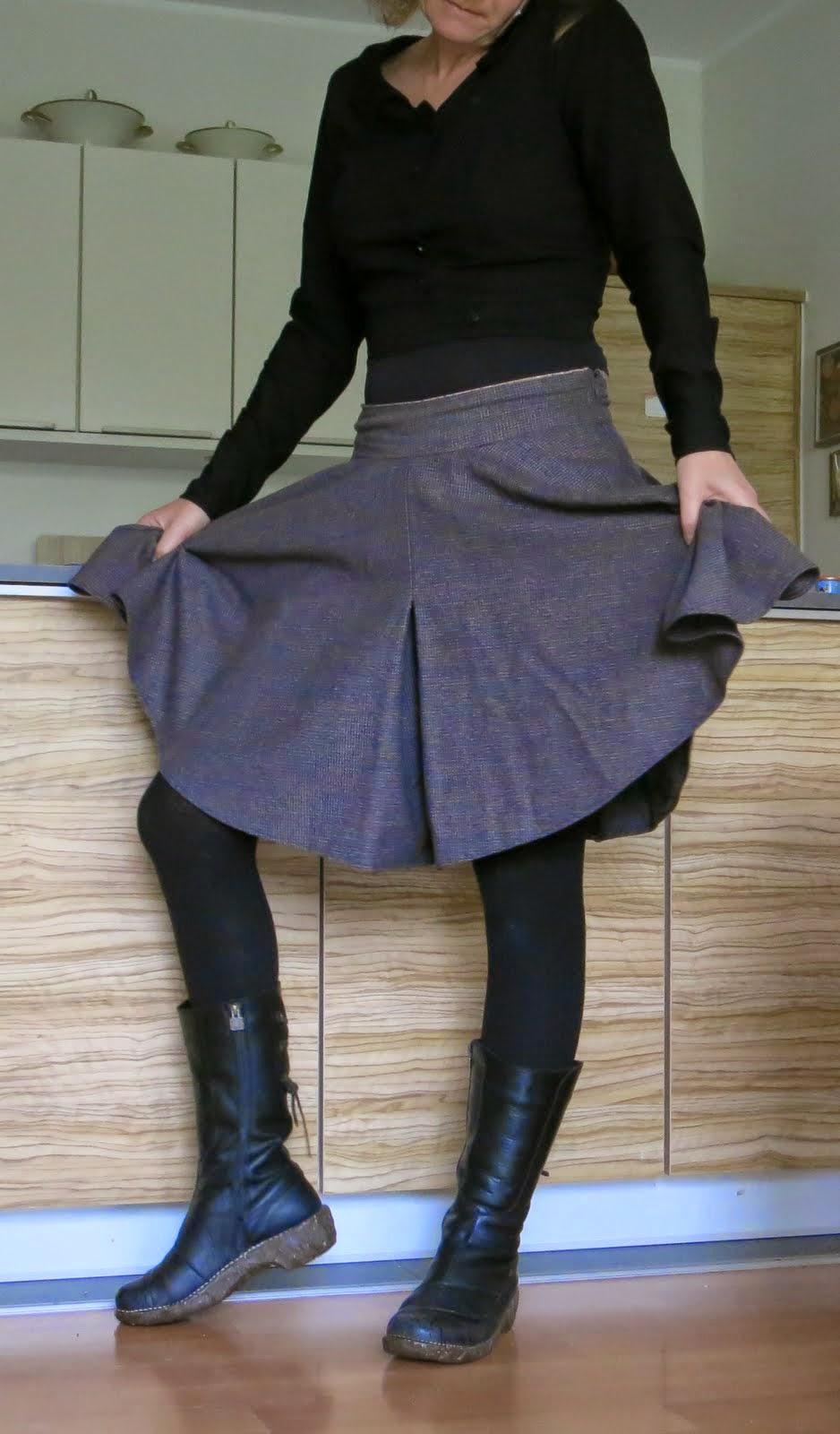 frau knopf: Me Made Mittwoch: Tania Culottes