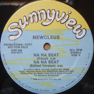 Newcleus - Na Na Beat  (Vinyl, 12'' 1986)(Sunnyview Records)(Promo)