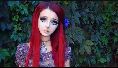 Foto Anastasiya Shpagina, Gadis yang Menjadi Anime