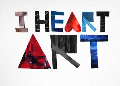 I Heart Art by Megan Coyle