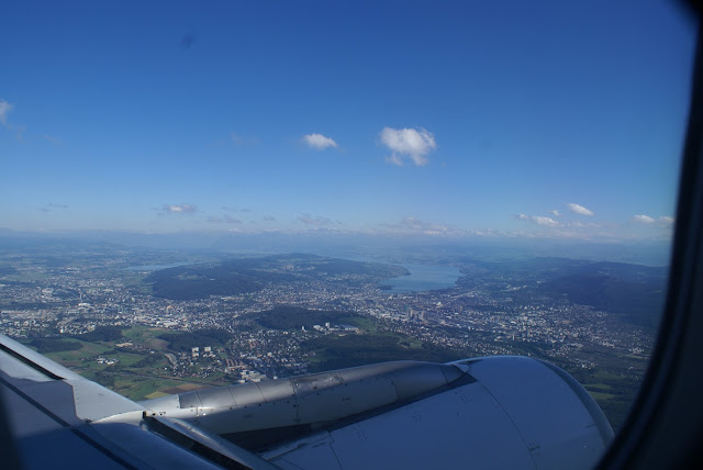 Zurich from the air