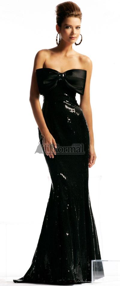 Sexy Long 2009 prom dress