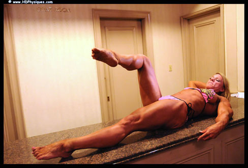 Jill Theobald Female Muscle Bodybuilding Blog HDPhysiques
