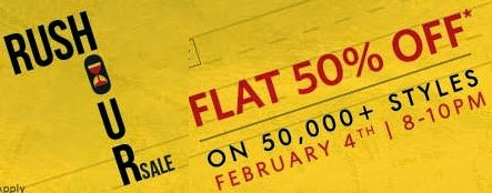 Clothing & Footwear: Flat 50% Off @ Myntra (Valid for Limited Period)