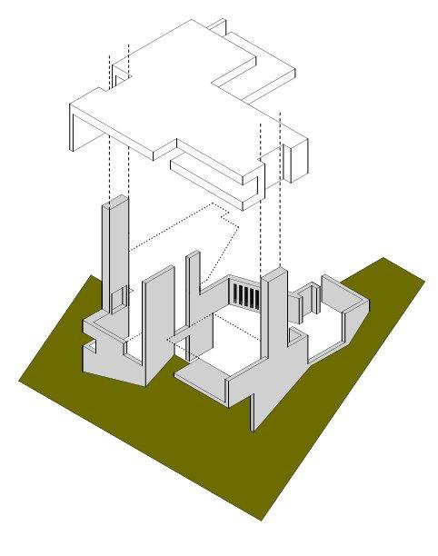 hình khối biệt thự 12