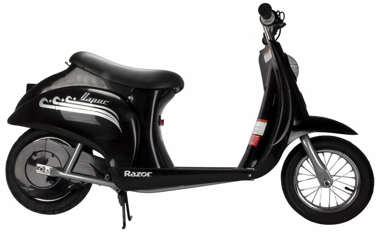 Razor pocket mod mint bistro with its vespa inspired look for Motorized razor scooter for adults