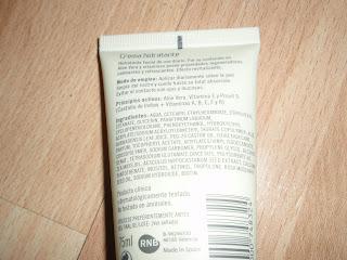 Crema facial Mercadona