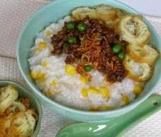 Resep Bubur Jagung Tabur Daging