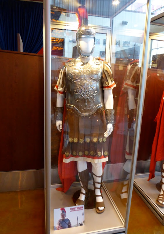 Clancy Brown Hail Caesar Roman Centurion costume