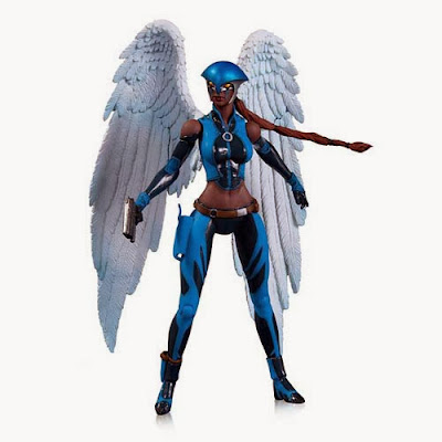 DC Comics Earth 2 New 52 Action Figures by DC Collectibles - Hawkgirl