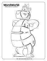 word world bear coloring pages