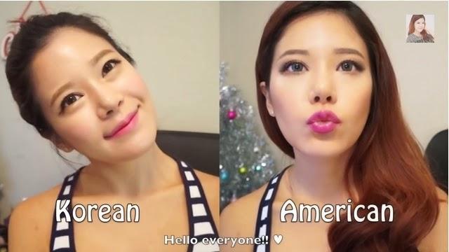 Макияж с корейской косметикой