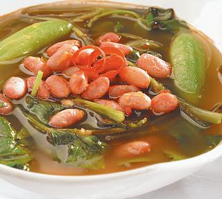 Resep Sayur Asem Kangkung Kacang Merah ~ Resep Aneka Sayur