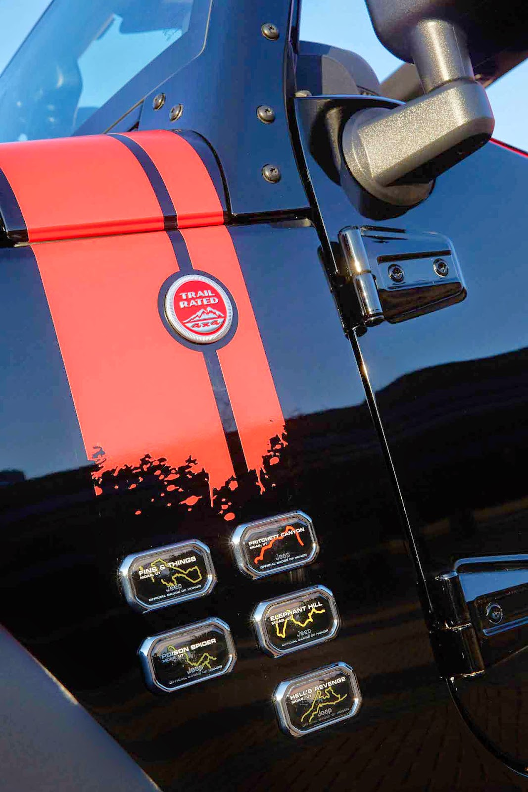2014 Jeep Wrangler level Red Detail Review