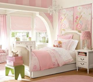 decoração para quarto feminino